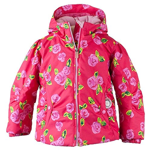 Obermeyer Kids Baby Girl's Crystal Jacket (Toddler/Little Kids/Big Kids) It¿S Snowing 3T by Obermeyer Kids