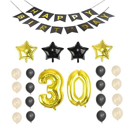 Poseca - Juego de decoración para Fiesta de cumpleaños (23 ...