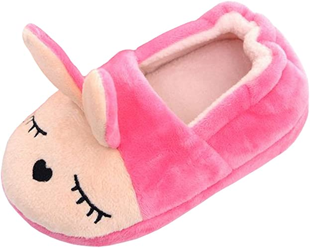 Beeliss Toddler Girl Slippers Cartoon House Shoes