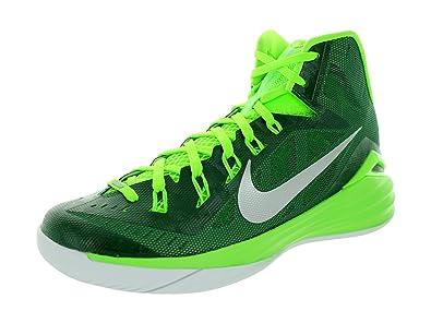Nike Men\u0027s Hyperdunk 2014 TB Basketball Shoe (Gorge Green/Electric Green /White/