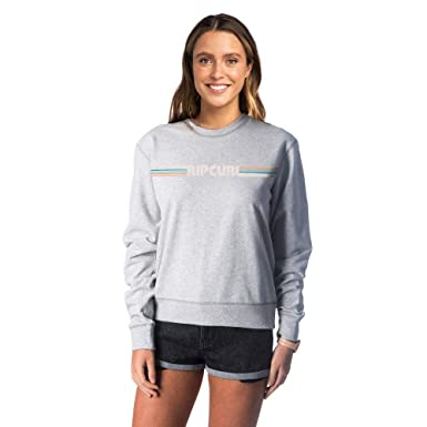 incredible prices online here pretty cheap Rip Curl BIG Mama Essentials Crew Femme,Pull,Encolure Ronde ...