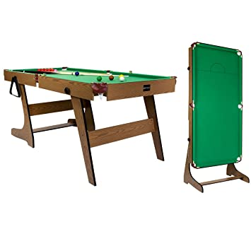Charles Bentley Premium Ft Pub Style Folding Snooker English Pool - Fold out pool table