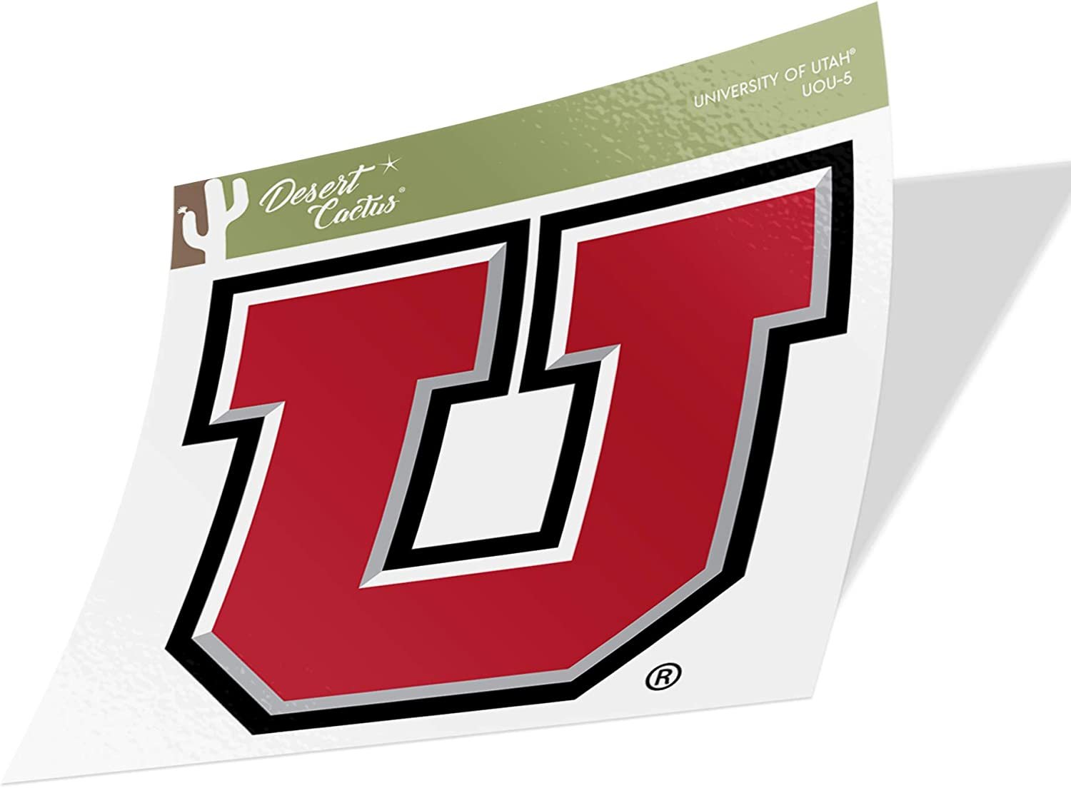 University of Utah Utes NCAA Vinyl Decal Laptop Water Bottle Car Scrapbook Sticker - 5