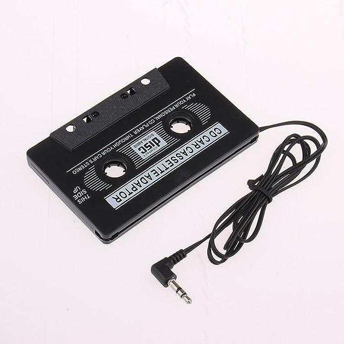Coche Cinta de casete de audio AUX Adaptador para iPod Nano CD MD MP3 Players –