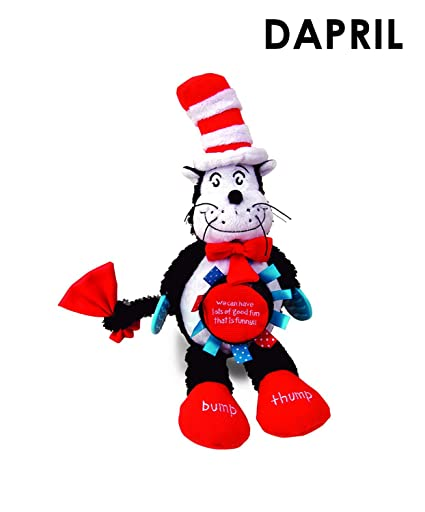image regarding Cat in the Hat Printable named Manhattan Toy The Cat Inside The Hat Sport Cat