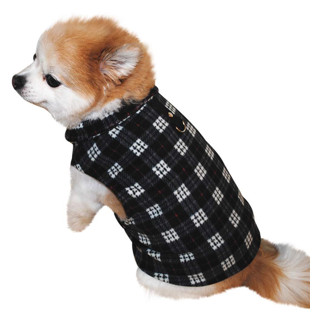 3413ceb2e9dd27 Hunde Warnwesten, Hunde Kleider, friendGG Haustier Hund Katze Zotte Warm  Weste Hündchen Hündchen Bekleidung Kleidung: Amazon.de: Haustier