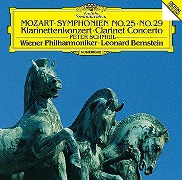 モーツァルト:交響曲第25番&第29番、クラリネット協奏曲(限定盤)(UHQCD)