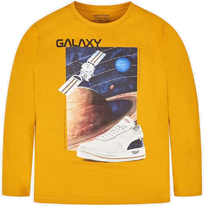 Mayoral Camiseta Manga Larga Galaxy niño Modelo 7028: Amazon.es ...