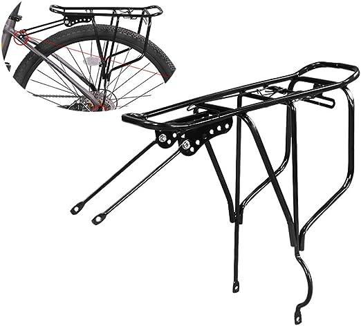 Portaequipajes para bicicletas, capacidad de 110 lb Estante de ...
