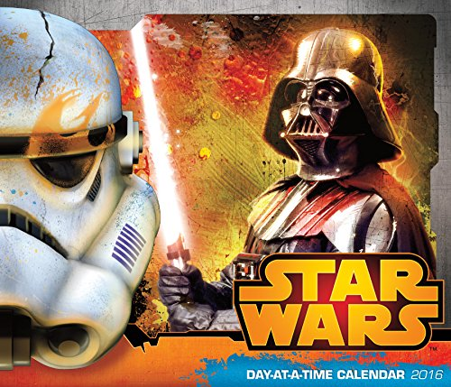 Star Wars Saga Day At A Time 2016 Box Calendar (Star Wars Day At A Time Calendar 2016)