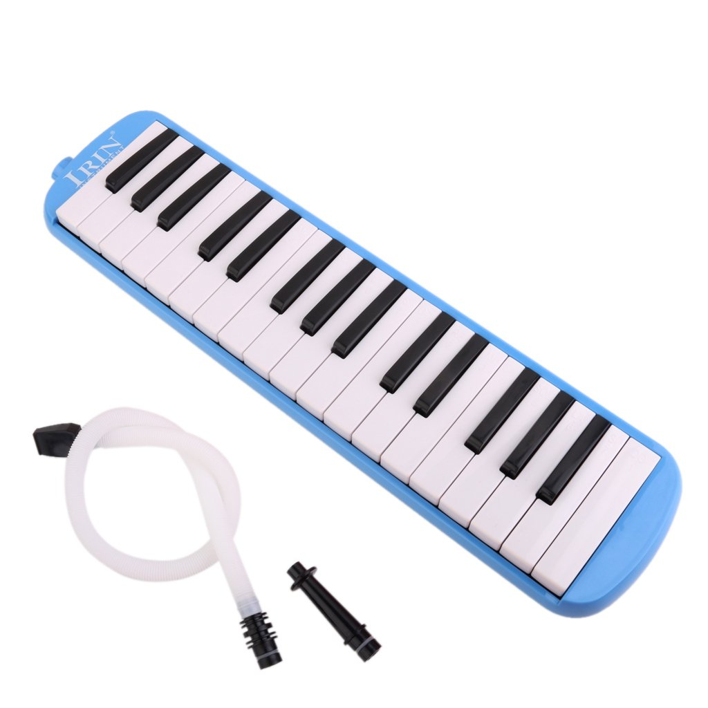 Generic IRIN 32 Key Melodica with Case Musical Instrument Blue product image