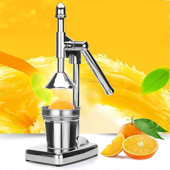 Compra Vinteky 3-en-1 •Exprimidor Manual de palanca•Exprimidor de zumo•licuadora con palanca•exprimidor de cítricos, naranjas y granadas•Fácil Manejo•Acero ...