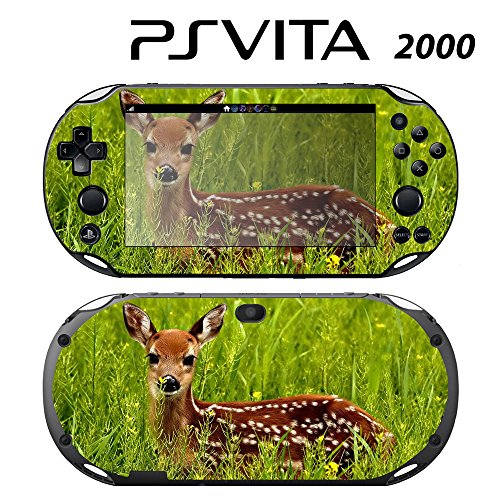 Decorative Video Game Skin Decal Cover Sticker for Sony PlayStation PS Vita Slim (PCH-2000) - Deer Bambie -  Decals Plus, PV2-AN15