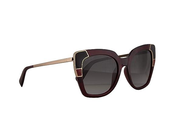 Salvatore Ferragamo SF889S gafas de sol w/gris lente de 52mm ...