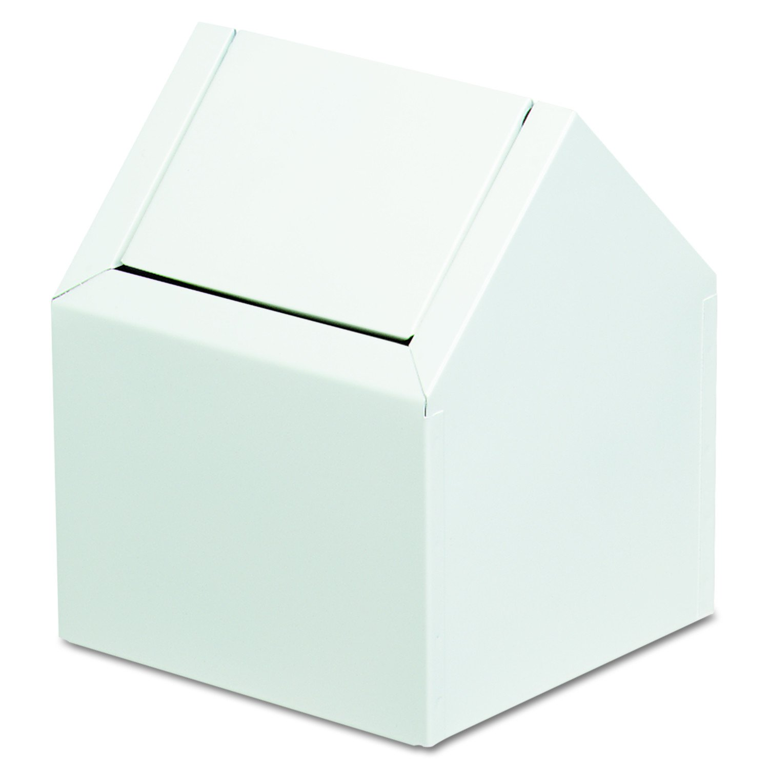 Hospeco 2201 9'' Width x 10-3/4'' Height x 9'' Depth, White Color, C-Swing Napkin Receptacle by Hospeco