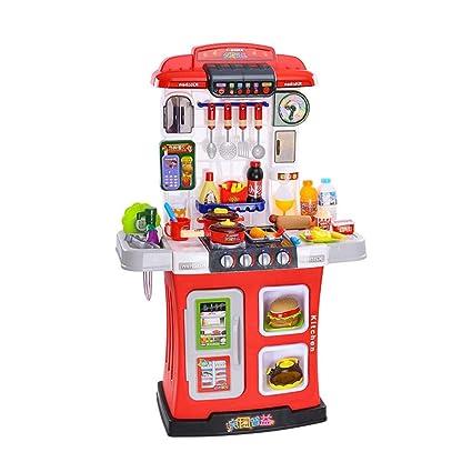 Amazon.com: Kitchen Toys Childrens Kitchen Toy Set Cooking ...