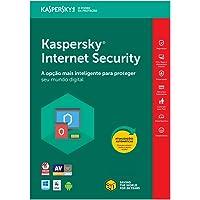 Kaspersky Internet Security 2019 - Multidispositivos - 1 Dispositivo, 1 ano (Digital - Via Download)