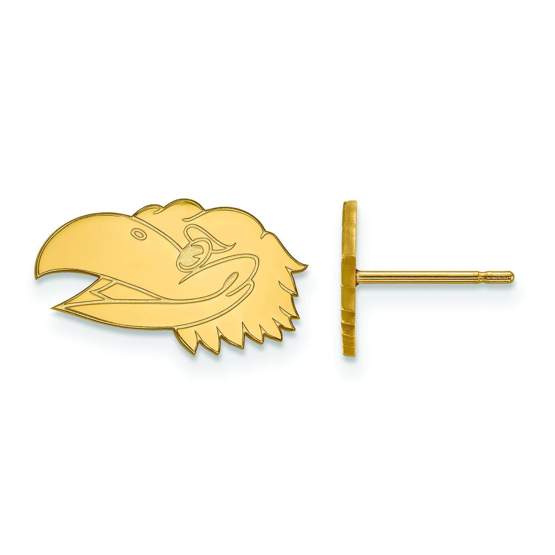 カンザスExtra Small (3 / 8インチ) ポストイヤリング(10 Kホワイトゴールド)   B01IYEUALM