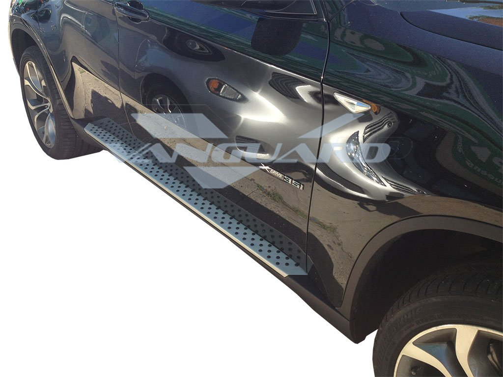 VANGUARD Off Road VGSSB-0764AL For BMW X5 2007-2013 Running Board Aluminum Factory Style Step Boards