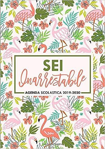 Amazon.com: Sei inarrestabile: Agenda scolastica 2019-2020 ...