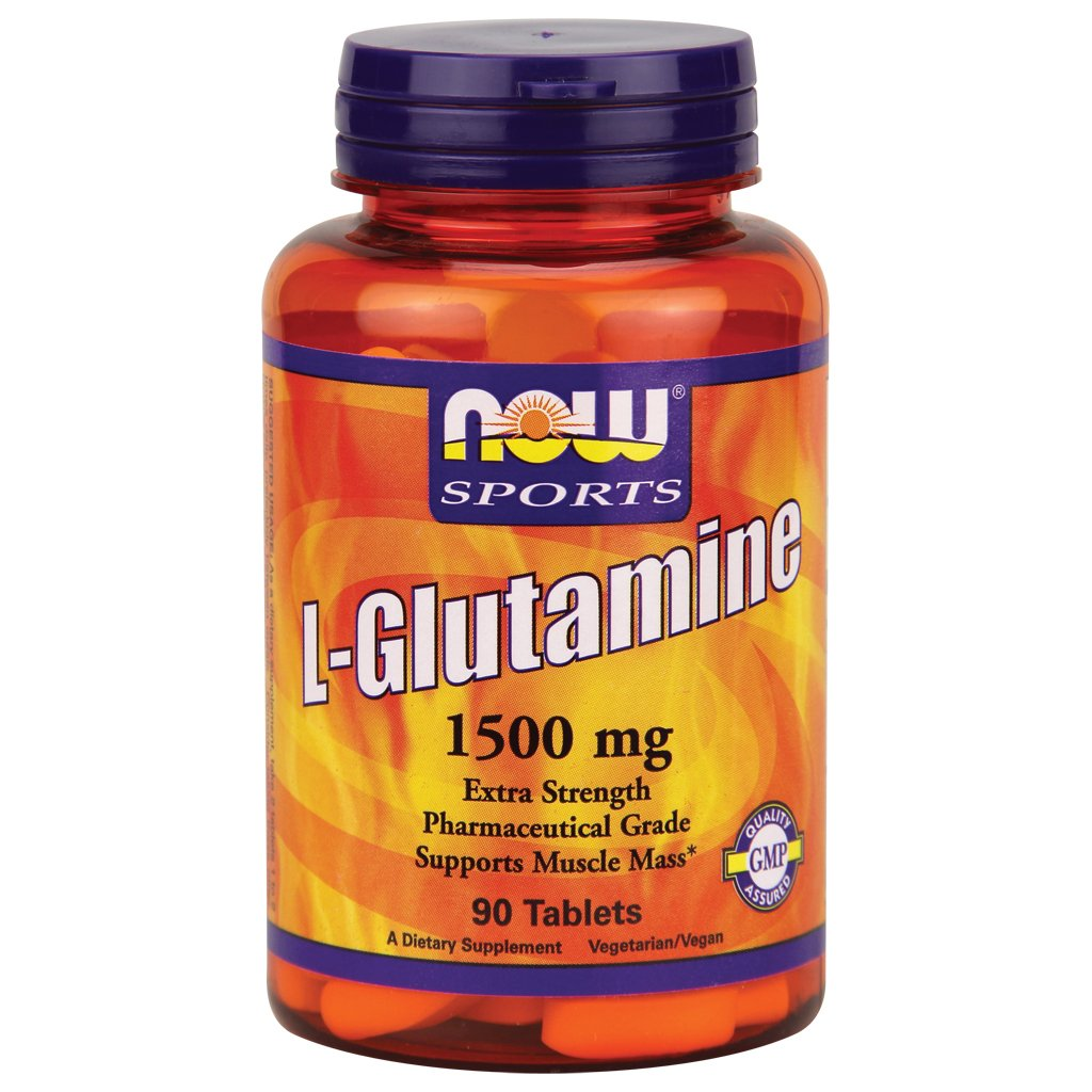 Now Sports - L-Glutamine 1500 mg - 90 Tablets by Now