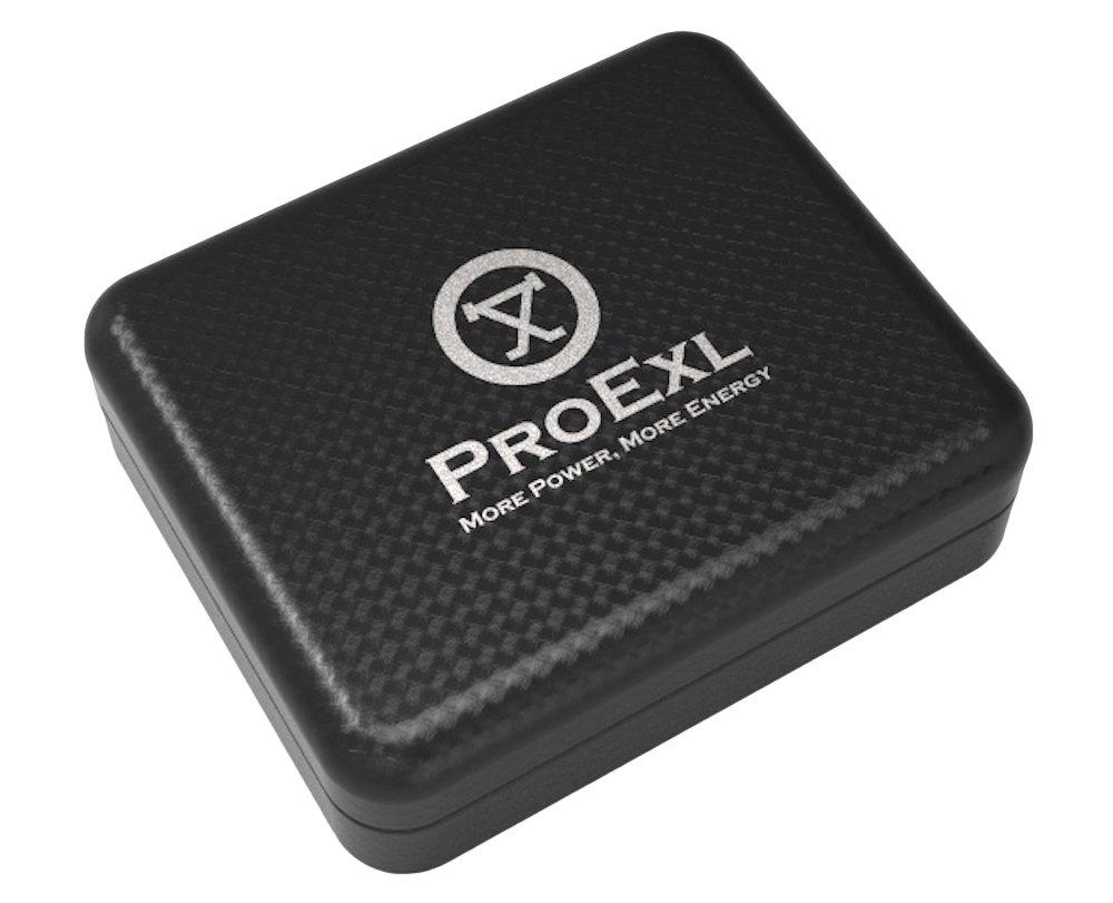 ProExl Magnetic Energy Sports Bracelet Satin Black ProExl Box by ProExl (Image #3)