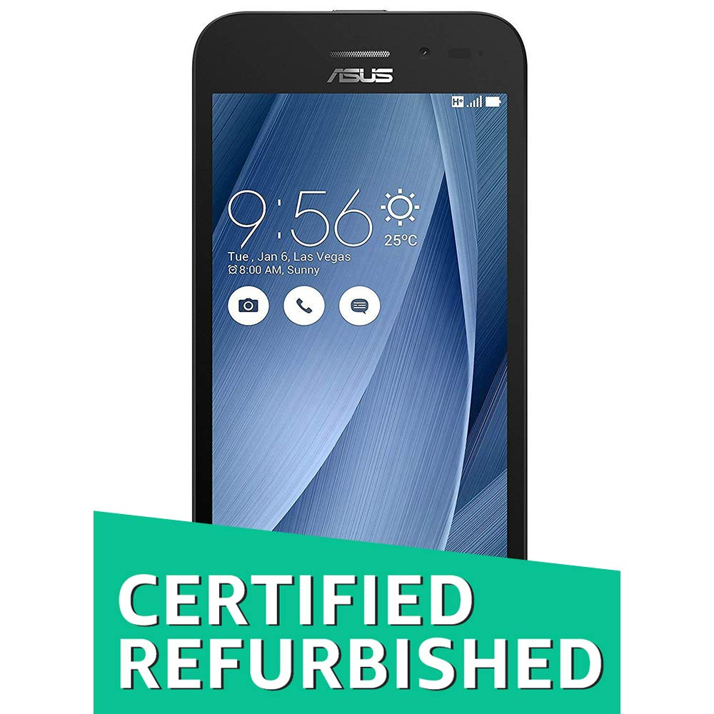 Amazon price history for (Renewed) Asus Zenfone Go 5.0 LTE 2nd Gen ZB500KL-1A066IN (Black)