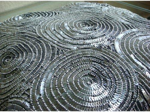 All Eyes On Silver - Decorativa Funda de Cojin 30 x 30 cm ...