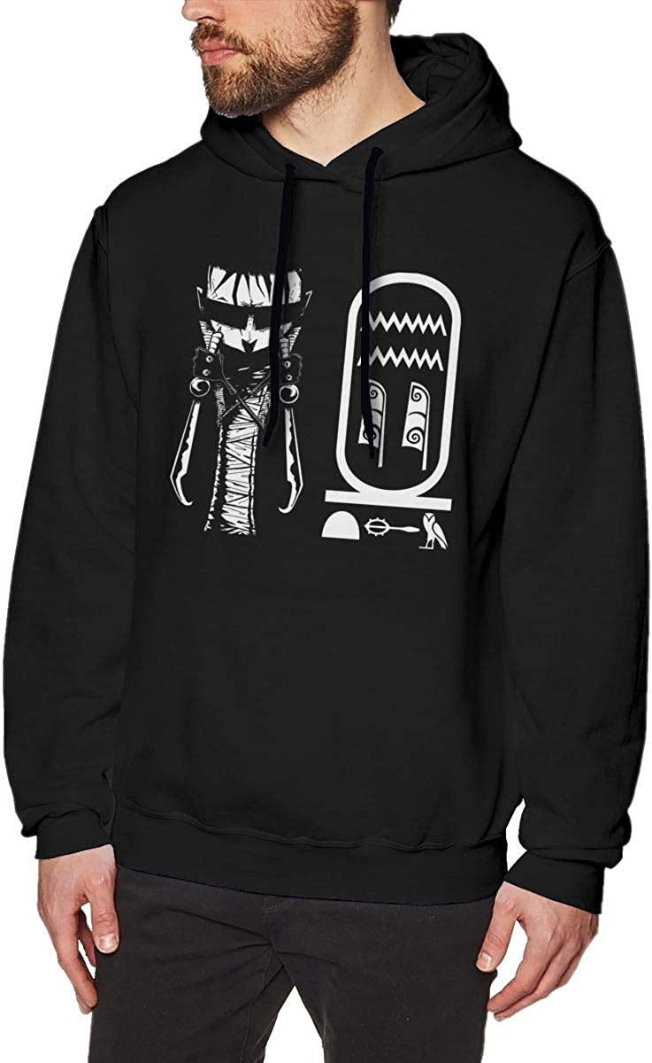 HorseTe Men Sweatshirts Fashion Johnny The Homicidal Maniac Mens Sweaters Black