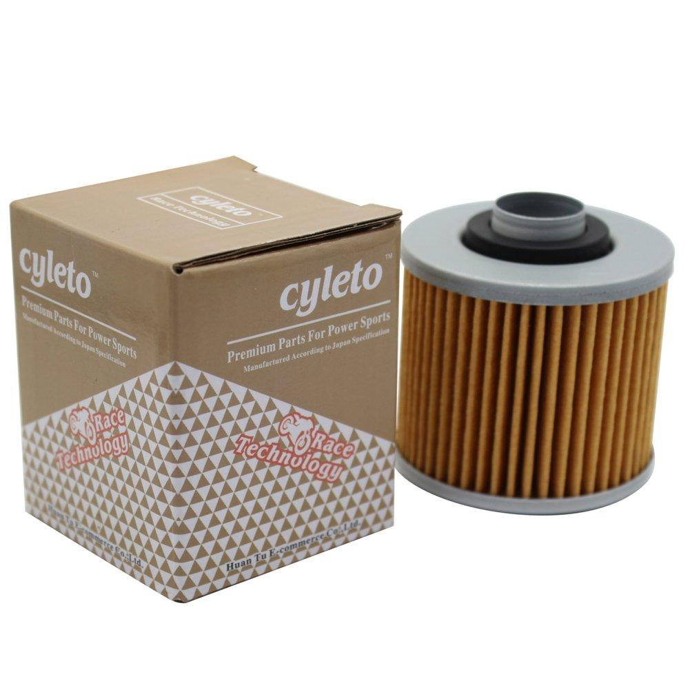 2 St/ück SR400 SR 400 1992-2008 2015 2016 SR500 SR 500 1978-2000 Cyleto /Ölfilter for YAMAHA SR250 SR 250 1979-1996 SR250T 1981