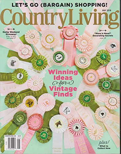 (Country Living Magazine May 2018)