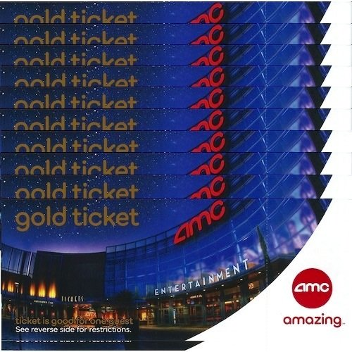 10 AMC Theater Gold Tickets by AMC