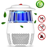 GSAGJyec Mosquito Trap Killer Lamp Fly Trap Electric Bug Catcher Control with Bulb Light Covers Fan Garden Patio Yard