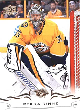 2019-20 Upper Deck Hockey #390 Pekka Rinne Nashville Predators Official Series Two Trading Card From UD
