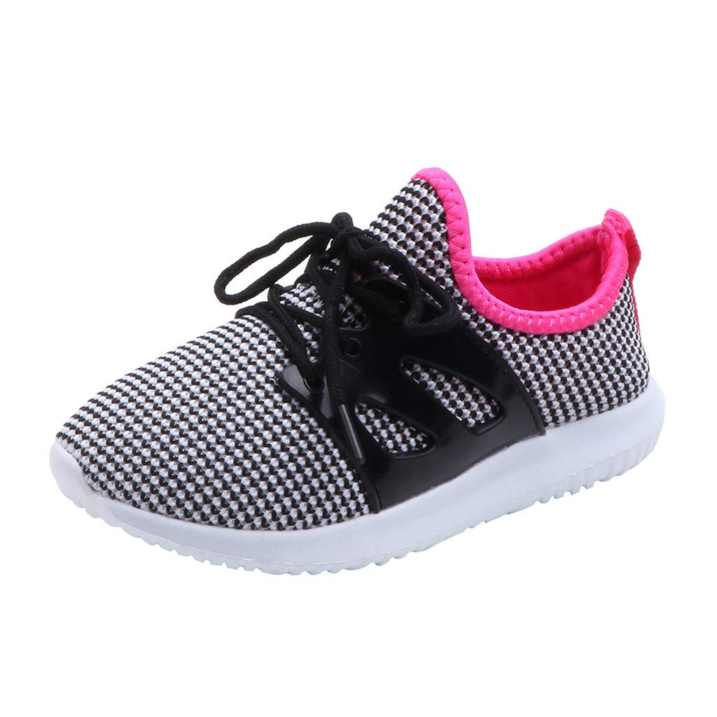 Suma-ma Toddler Babys Mesh Breathable Sports Shoes Children Boys Girl Casual Running Sneakers Non-Slip Shoe