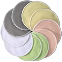 Waterproof Bamboo Reusable Breast Nursing Washable Soft Organic Pads 8pcs.