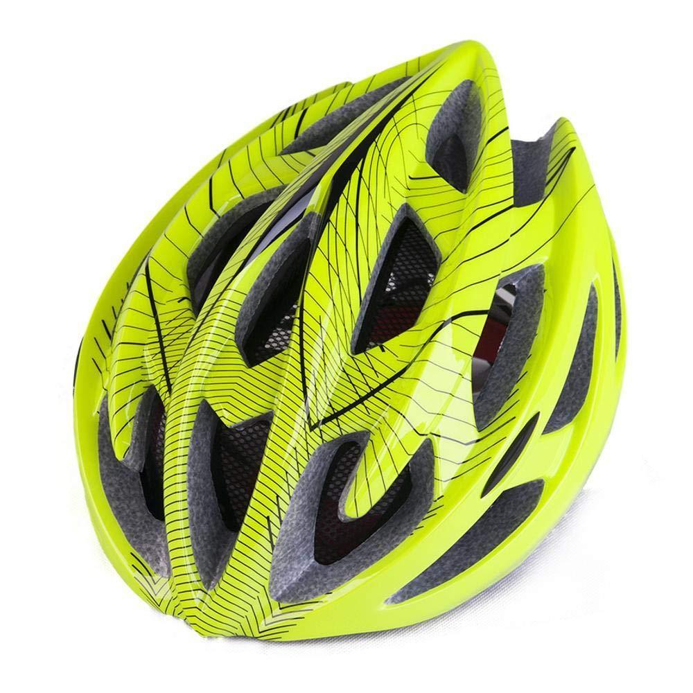 Y-YT Fahrradhelm Fahrrad Mountain Bike Road Bike Reithelm mit leichten Insektennetz atmungsaktiv Helm 57-63cm