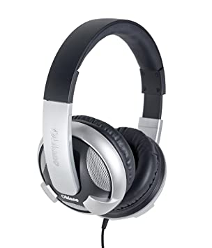 Syba NC-2 Headphone with Built-in Amplifier and in-Line Microphone, Black (OG-AUD63053) Headphones at amazon