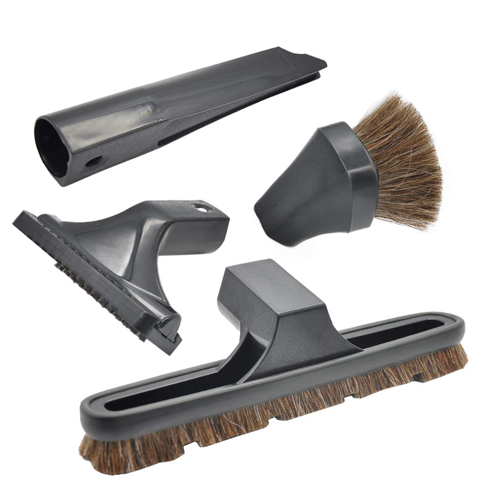 EZ SPARES 4Pcs Replacements for Rainbow, Crevice Tool,Dusting Floor Brush,Cleaning Wand Accessories,Rainbow Vacuum Attachments