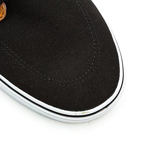 U true Adulte amp;l Noir Sneakers Vans c Black Mixte Basses Brigata White SxvSd4B