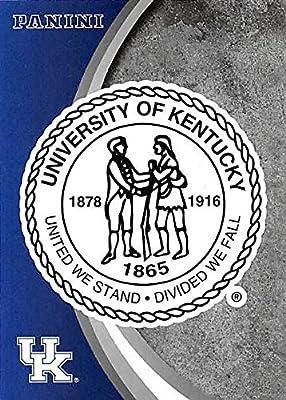 University Seal football card (Kentucky Wildcats) 2016 Panini Team Collection #3