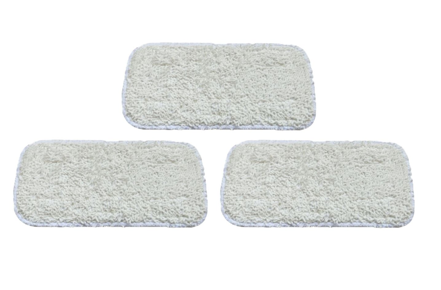 Surrgound Microfiber Steam Mop Pads Fit for Sienna Vibe, Vortex, Sienna aqua series, Sienna Flex Steam Mops Replace Part# SSM-3003, 3pcs SISSM300303