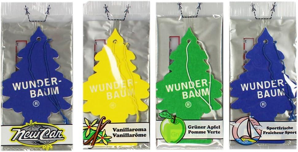 Wunderbaum by cOM-four /® d/ésodorisant de voiture-rafra/îchit lair dans une pi/èce