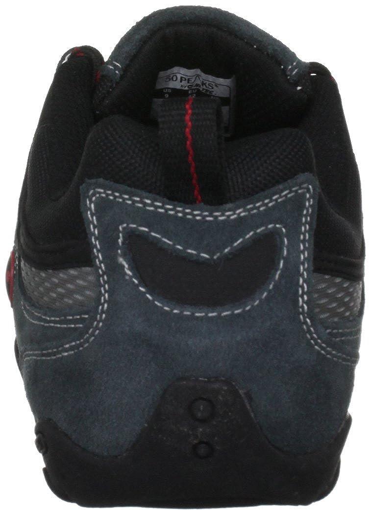 50 Peaks By Hi-Tec Mens Quadra Classic Grey//Black//Red Walking Shoe O000983//051//01 9 UK