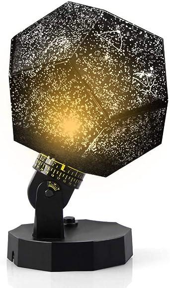 DIY luz de noche bebé estrella proyector, lámpara de constelación ...