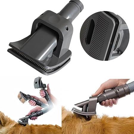 QT cepillo de pelo de las mascotas perro más clara herramienta para Dyson novio Animal alergia aspiradora accesorios: Amazon.es: Hogar