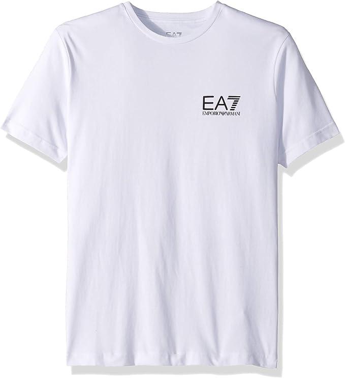 Emporio Armani Camiseta Algodon EA7 6ZPT52 1100 Blanca Man: Amazon.es: Ropa y accesorios