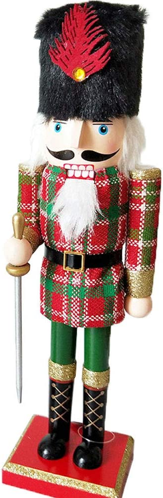 Lovely Nutcracker Puppet Walnut Soldier Holiday Festival Table Decoration