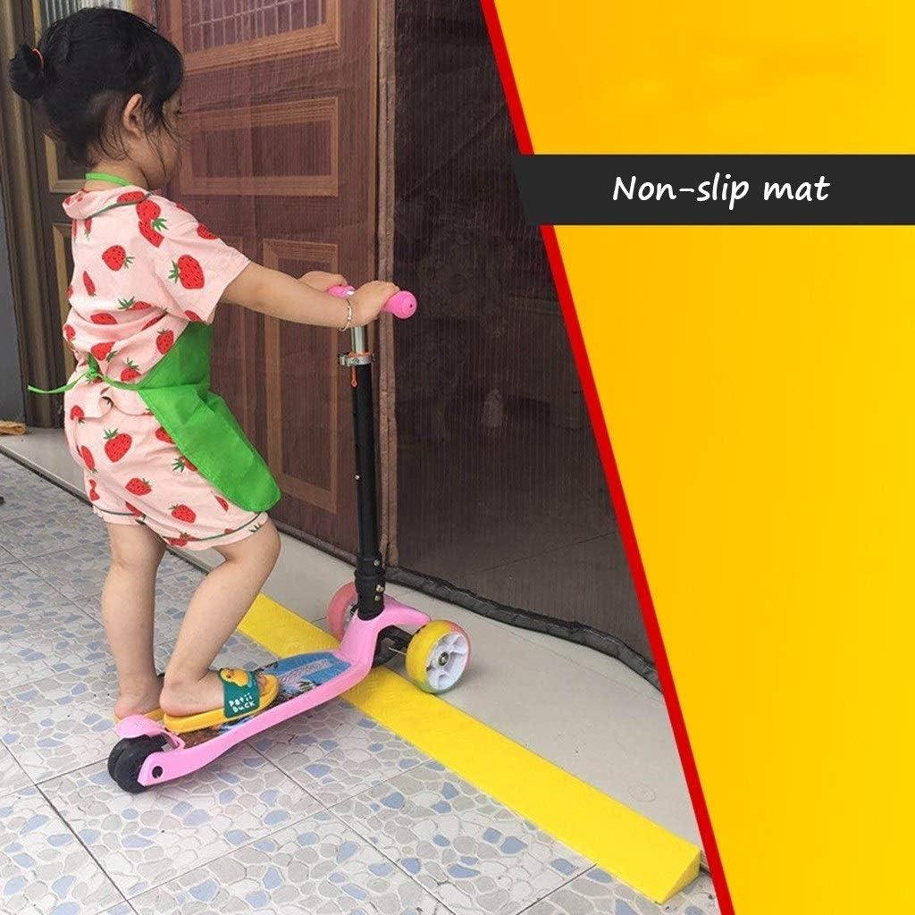 Size : 95 * 8.5 * 3.5CM Indoor Schwellenrampen Fahrrad Kinderwagen Trolley Mat-Hotel Convenience Store Rampen Mute Pad Fahrzeugrampen