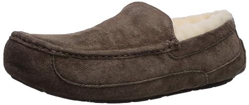 UGG Ascot Zapatillas de estar por casa Hombre, Café, 44.5 EU: Ugg: Amazon.es: Zapatos y complementos